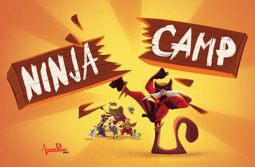 Ninja Camp Board Game
