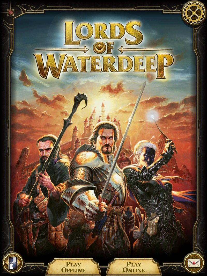 Lorrds of Waterdeep iOS App