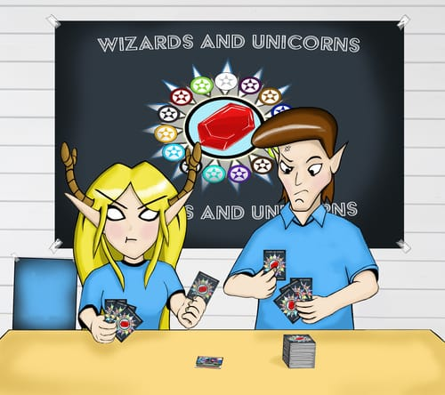wizards and unicorns