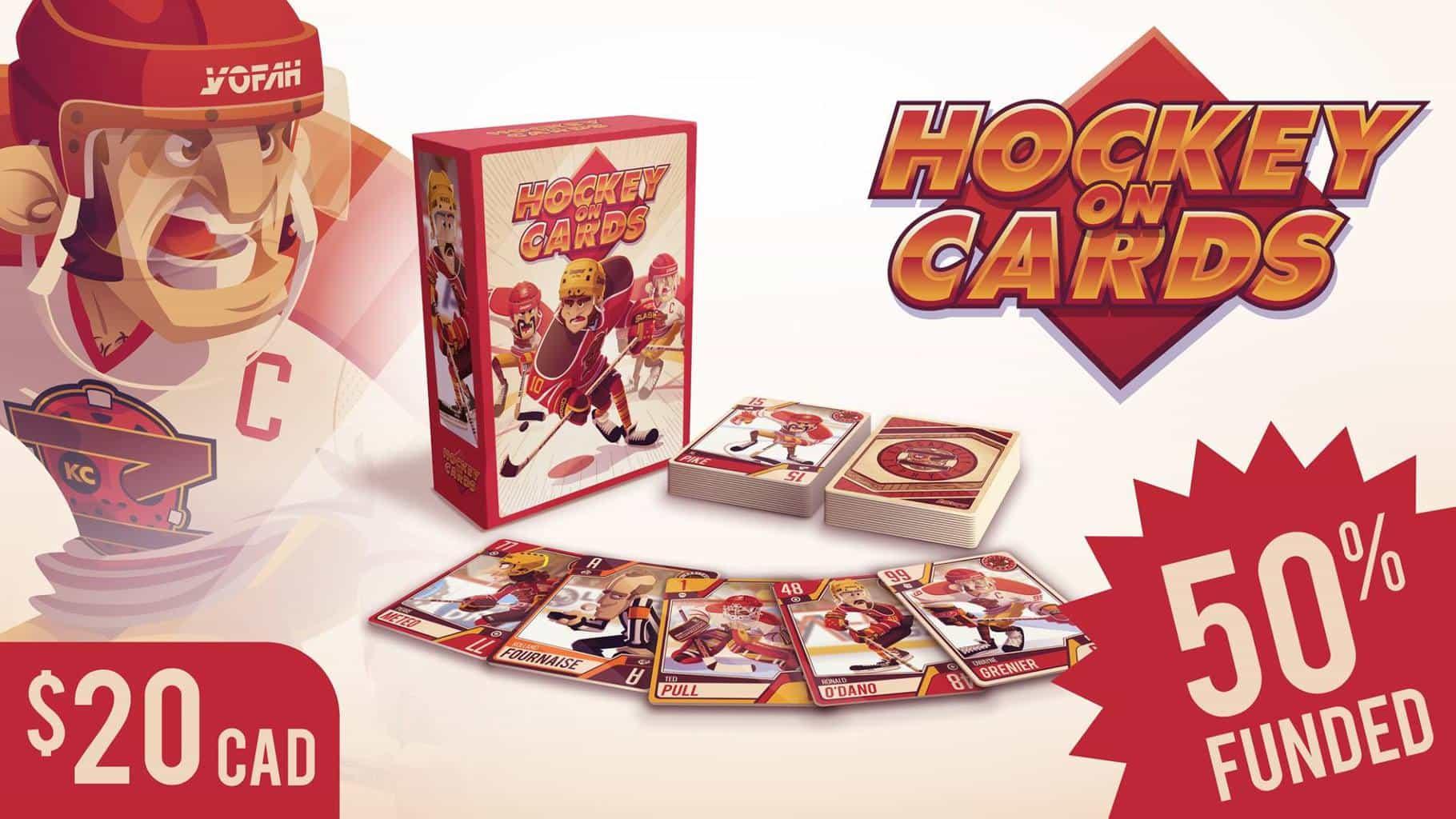 hockey on cards