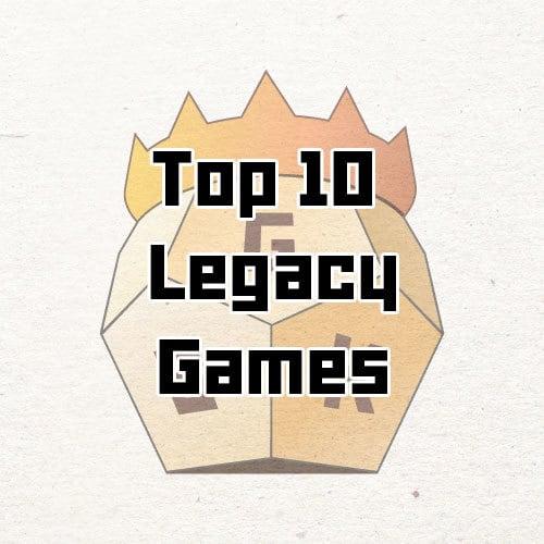 top 10 legacy board games